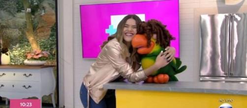 Momento foi comemorado na internet. (Reprodução/TV Globo)