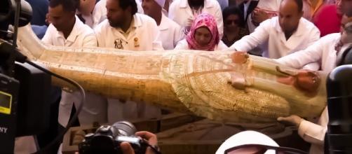 Trovati 30 sarcofagi egizi nell'Ovest di Tebe.