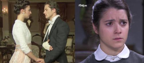 Una Vita, spoiler al 3 novembre: Maria inganna Casilda, Samuel chiede la mano di Lucia