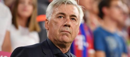 Ancelotti: 'Anche colpa di Sarri se il Napoli in Champions non vince fuori casa da 3 anni'.