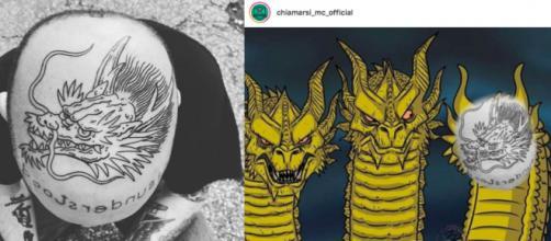 Il tatuaggio di Gemitaiz ed il meme di 'Chiamarsi MC tra amici senza apparenti meriti lirici'..