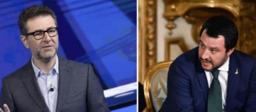 Report sul Russiagate: le accuse di Fabio Fazio a Matteo Salvini