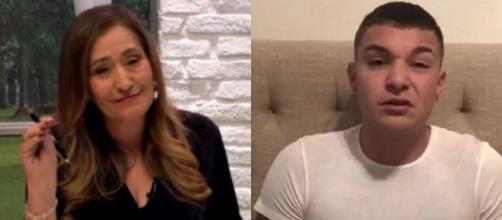 Sonia Abrão criticou o cantor MC Gui (Fotomontagem/Reprodução/RedeTV/Instagram)