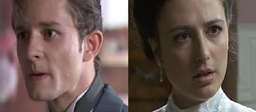 Una Vita, trame: l'Alday aggredisce il parroco Telmo, Lucia viene ingannata da Alicia