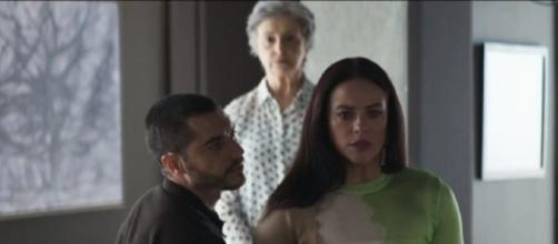 Vivi defende Berta. Foto: Reprodução/ TV Globo