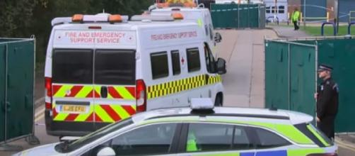 39 people found dead inside lorry in Essex. [Image source/ITV News YouTube video]