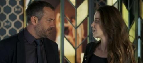 Agno não deixará barato para Fabiana em 'A Dona do Pedaço'. (Reprodução/Rede Globo)
