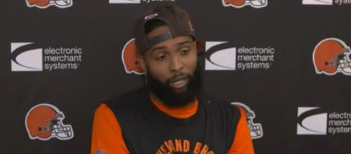 Beckham said he has been longing to play for a dynasty (Image Credit: Cleveland Browns/YouTube)