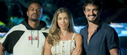 Paloma (Grazi Massafera) confessará que já sonhou em ficar com seus dois amores ao mesmo tempo. (Reprodução/Rede Globo)