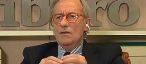 Il giornalista Vittorio Feltri
