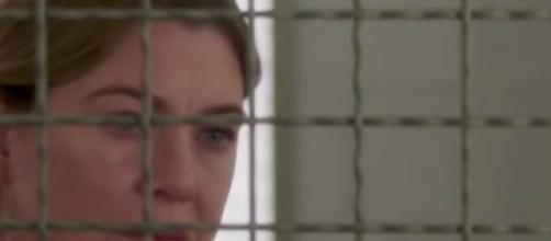 Meredith Grey in prigione nella 16x06 di Grey's Anatomy