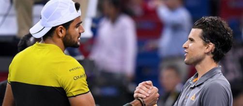 Vienna: Berrettii cede a Thiem, ma con il ko di Monfils segna un altro passo per le Finals