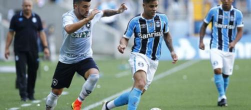Grêmio agora só tem o Brasileirão pela frente. (Lucas Uebel/Grêmio FBPA)