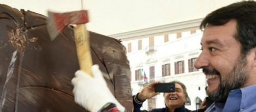 Matteo Salvini in Umbria per la campagna elettorale