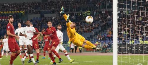 Theo Hernandez il migliore del Milan contro la Roma
