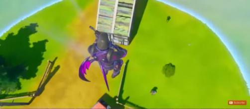 Going, going down. [Image source: Glitch King/YouTube]