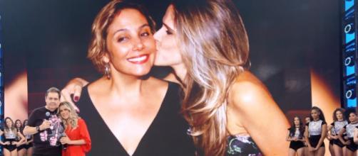 Heloísa Perissé leva Ingrid Guimarães às lágrimas no 'Domingão do Faustão'. (Arquivo Blasting News)