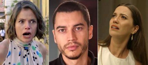 Jô, Camilo e Fabiana serão punidos na trama. (Reprodução/Rede Globo)