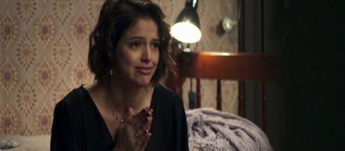 Josiane vacilará e deixará rastros de um terrível crime. (Reprodução/TV Globo)