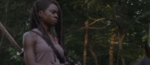 Michonne in 'The Walking Dead' season 10 [image source: Daryl Dixon - YouTube]