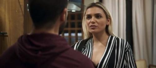 Paixão e Kim terão conflito em 'A Dona do Pedaço'. (Reprodução/TV Globo)