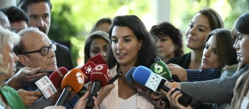 Rocío Monasterio, presidenta de VOX en Madrid.