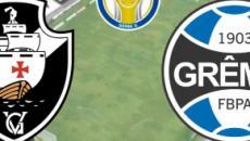 Vasco x Grêmio: transmissão ao vivo na TV Globo, nesta quarta, às 21h30