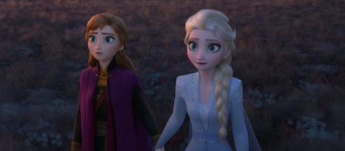 Las dos protagonistas principales de Frozen, Elsa y Anna.