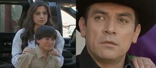 Ana Paula pede o divórcio a Rogério em 'A Que Não Podia Amar'. (Reprodução/Televisa)