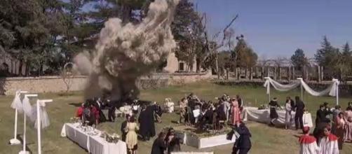 Anticipazioni Il Segreto dal 3 al 9 novembre: Maria Elena muore durante l'esplosione
