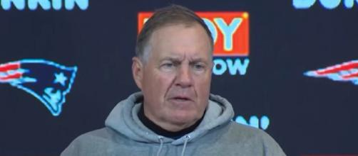 Belichick recently notched his 300th coaching win. [Image Source: New England Patriots/YouTube]