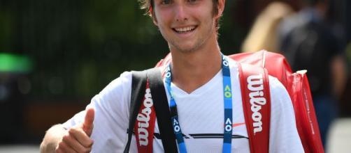 Corentin Moutet, un espoir atypique à l'assaut de Roland-Garros ... - lefigaro.fr