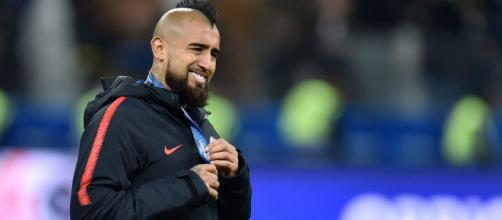 Inter in pressing su Arturo Vidal