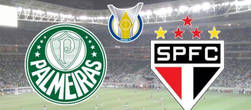 Palmeiras x São Paulo: transmissão ao vivo e exclusiva no pay-per-view. (Fotomontagem)