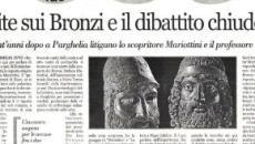 Le Iene: i bronzi di Riace forse erano tre, c'erano anche anche elmi, scudi e lance