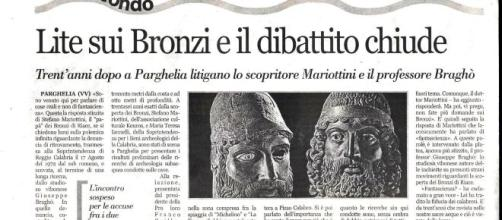 bronzi di riace giuseppe bragho - Photographers.it - la vetrina ... - photographers.it