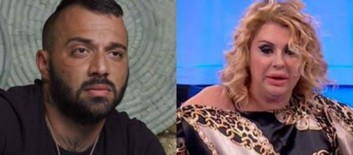 Damiano Er Faina e Tina Cipollari