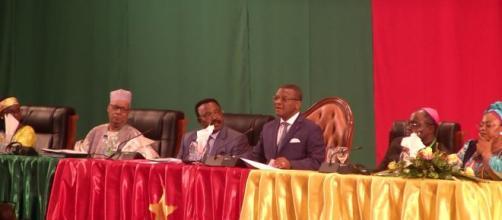 Le premier Ministre Chief Dr Joseph Dion Ngute lors de l'adoption des résolutions le 3 octobre 2019 (c) Journal l'Action
