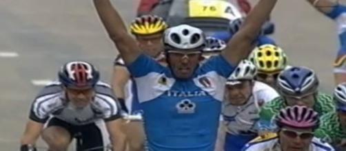 Mario Cipollini Campione del Mondo a Zolder