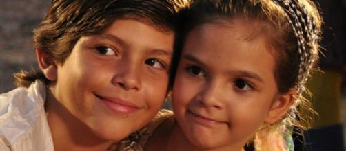 O sucesso revelou o talento de pequenos atores que ficaram famosos à época. (Reprodução/ TV Globo)