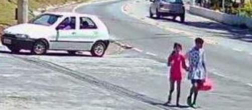 Raíssa foi morta no último domingo (29), no Parque Anhanguera, zona norte de São Paulo. (Reprodução/Record TV)
