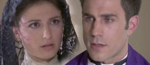 Una Vita spoiler: Padre Telmo confida a Lucia che l'Alday vuole depredarla