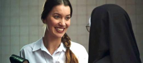 Fabiana deixa madre surpresa com seu retorno. (Reprodução/Rede Globo)