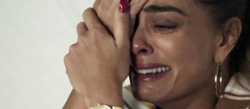 Juliana Paes se emociona em cena de 'A Dona do Pedaço'. (Arquivo Blasting News)