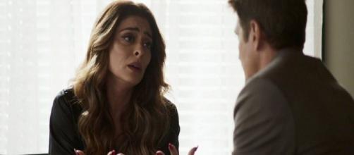 """Maria da Paz sentirá pena ao descobrir que o ex-marido perdeu todo o seu dinheiro em """"A Dona do Pedaço"""". (Reprodução/TV Globo)"""