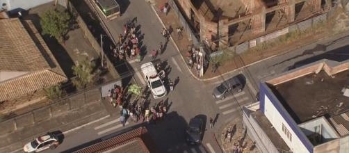 Menina de 5 anos é morta a facadas. (Reprodução/TV Globo)