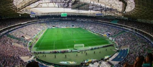Palmeiras e São Paulo duelam no Allianz Parque. (Reprodução/Instagram/@palmeiras)