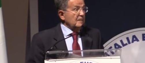 Romano Prodi parla delle privatizzazioni richieste dall'Unione Europea.