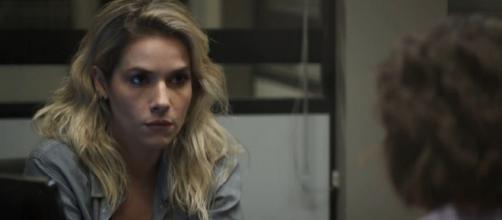 Yohana quer provas do crime de Josiane. (Reprodução/TV Globo)