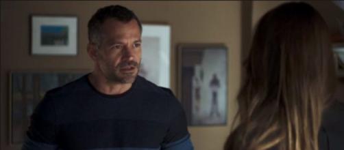 Agno e Fabiana já foram aliados em 'A Dona do Pedaço'. (Reprodução/TV Globo)